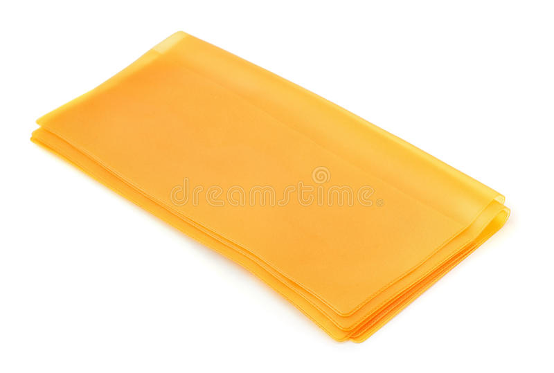 Plastic covers. Plastic document covers isolated on white stock photography