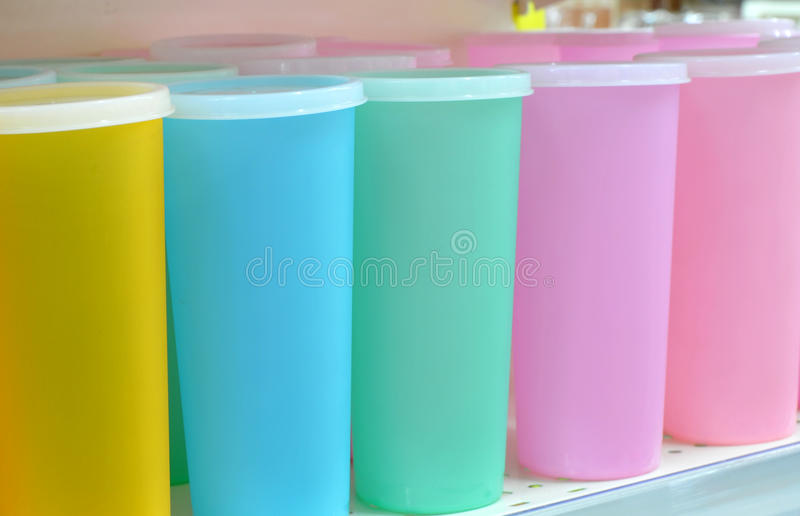 Download Plastic cups stock image. Image of sales, retail, green - 12119649