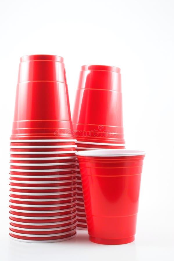 Free Plastic Cups Stock Image - 1627001