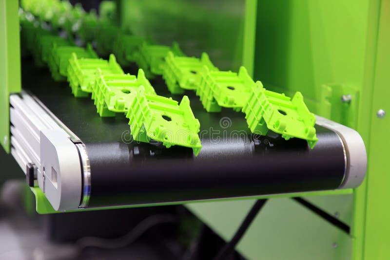 Plastic delen stock afbeelding