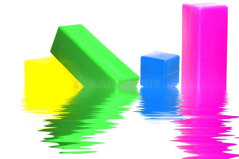 Plastic designer royalty free stock images