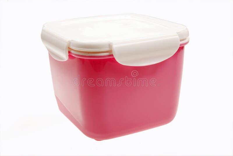Plastic doos stock afbeeldingen