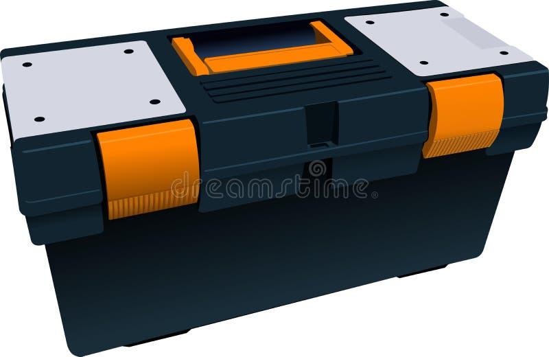 Plastic dooshoogtepunt voor hulpmiddelen vector illustratie