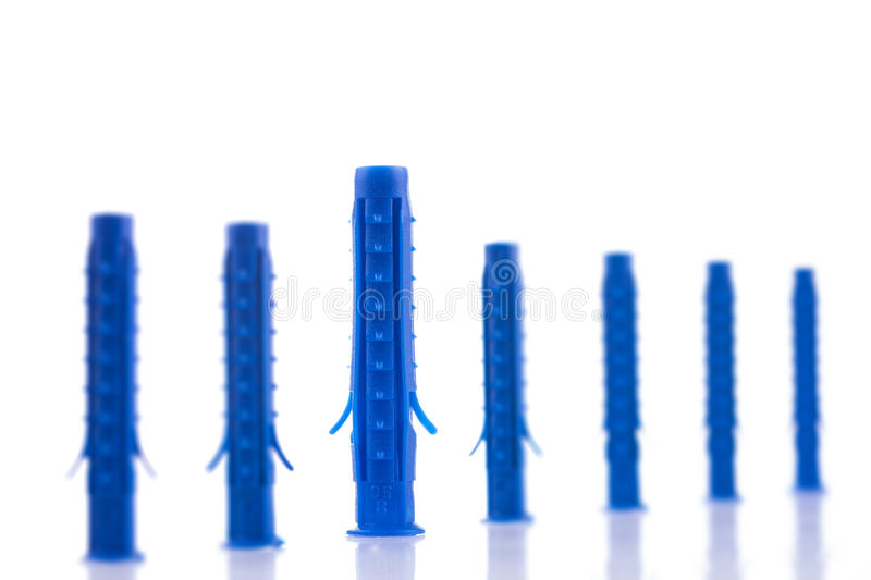 Download Plastic dowels stock image. Image of group, element, improvement - 37181639