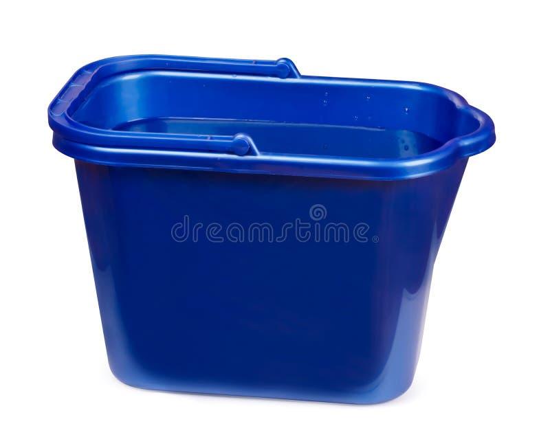 Plastic emmer stock foto