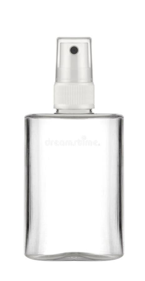 Plastic fles royalty-vrije stock afbeelding