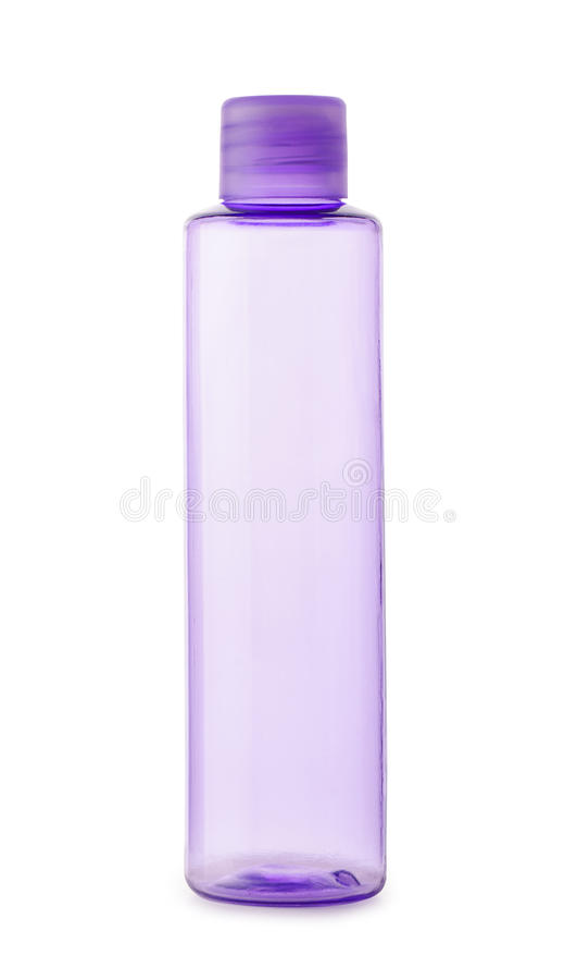 Plastic fles stock fotografie