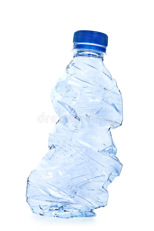 Plastic fles stock foto's