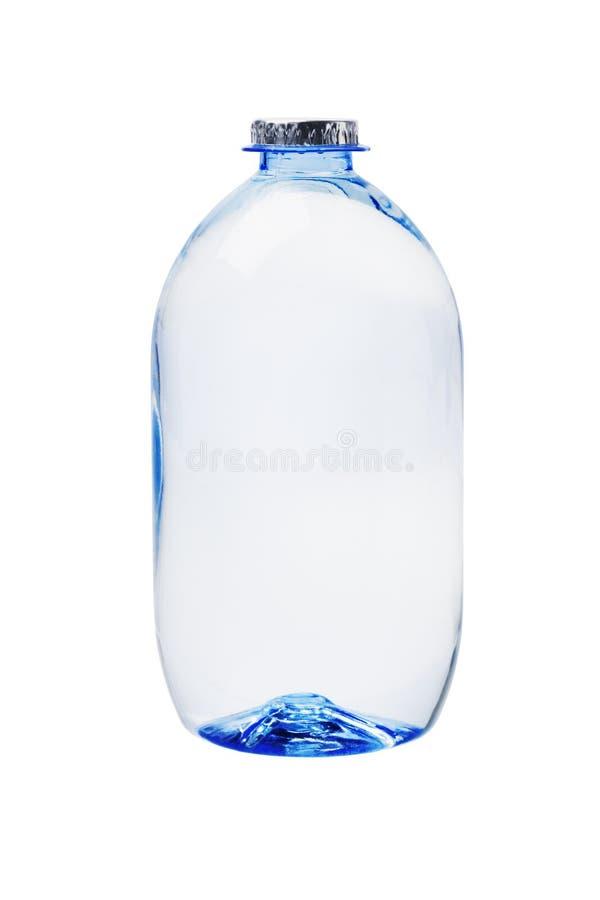 Plastic Fles Mineraalwater stock foto's