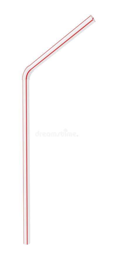Free Plastic Flexible Drinking Straw Royalty Free Stock Image - 43299006
