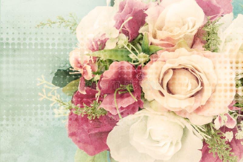 Plastic flower royalty free stock photos