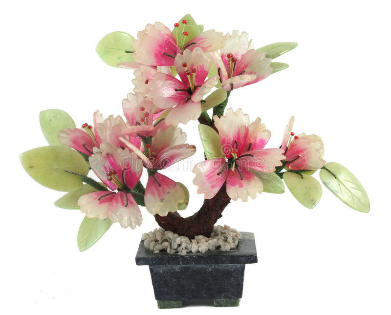 Plastic flowers royalty free stock photos