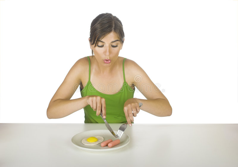 Plastic Food Stock Photo