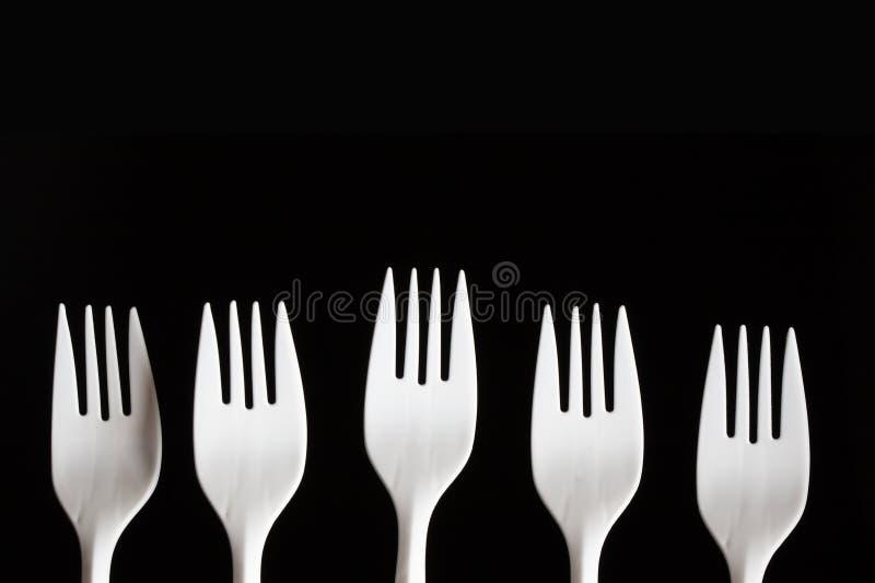 Download Plastic Forks stock image. Image of single, object, dishware - 11206635
