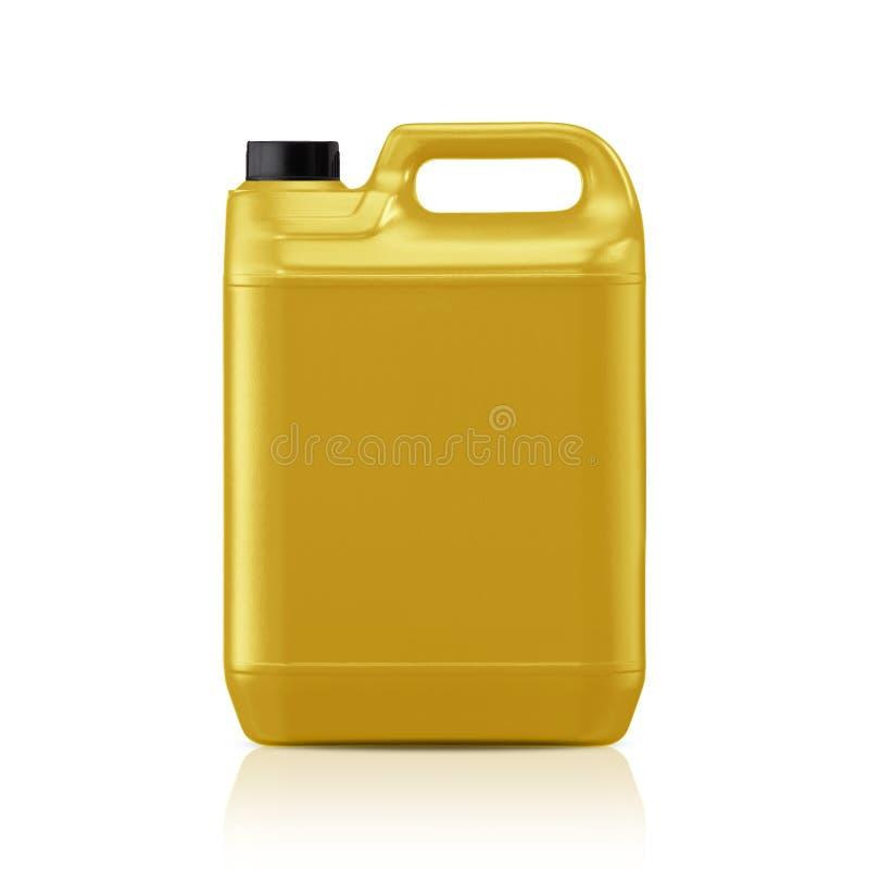 Plastic gallon royalty-vrije stock afbeeldingen
