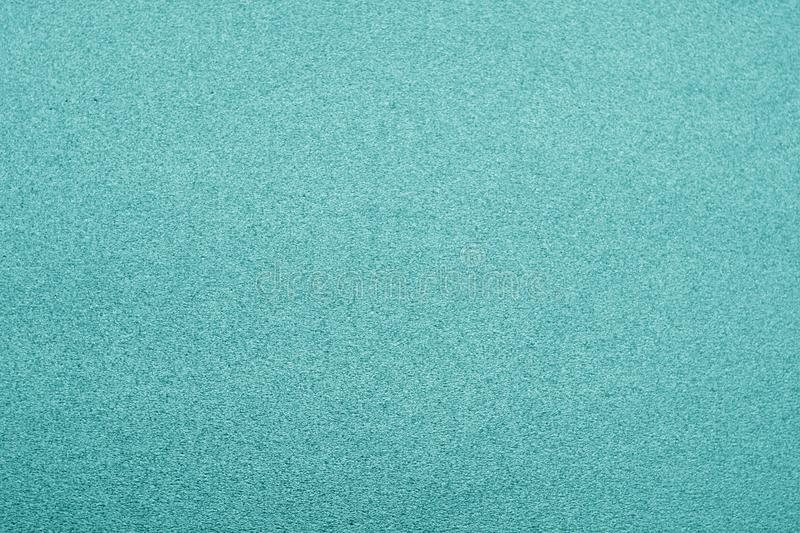 Plastic glittering texture in cyan color stock photography