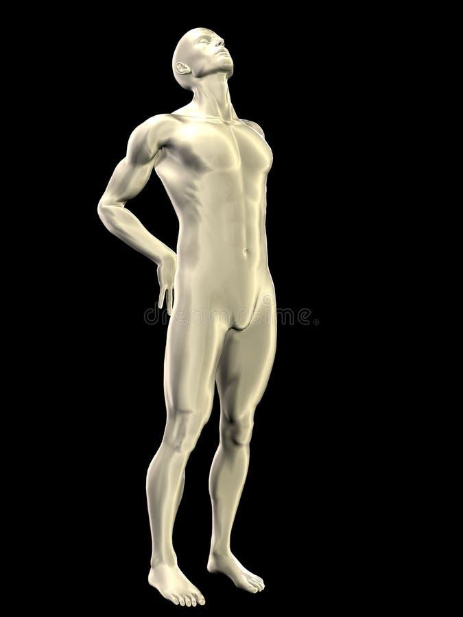 Plastic Man - 01 royalty free stock photos