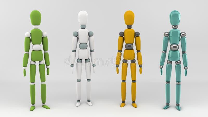 Download Plastic Man Royalty Free Stock Image - Image: 23547776