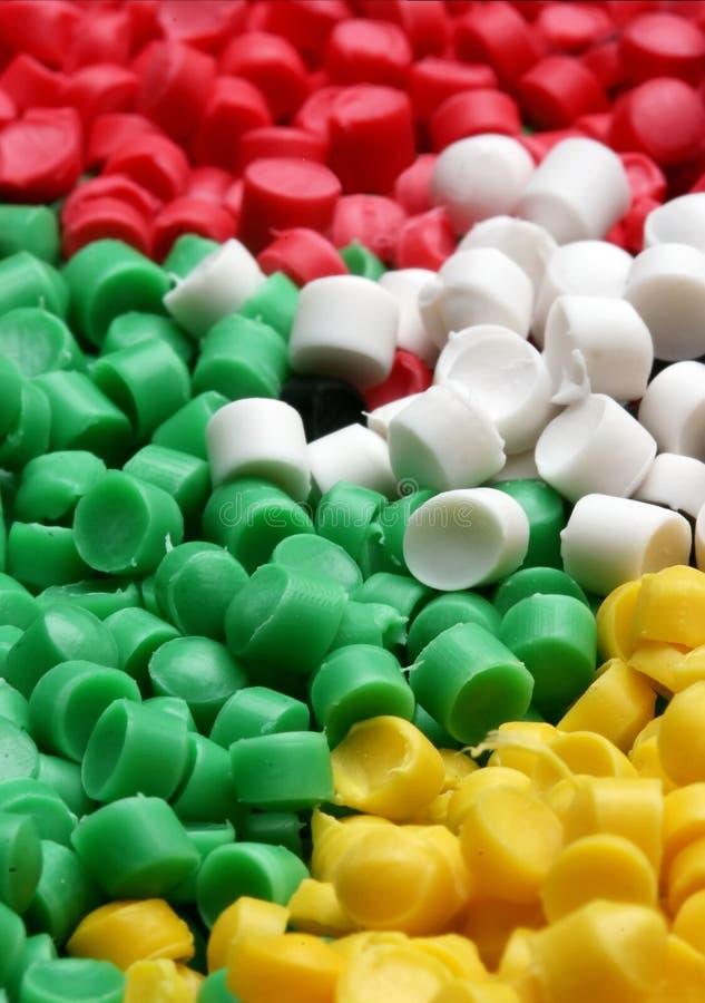 Plastic Materiaal royalty-vrije stock afbeeldingen