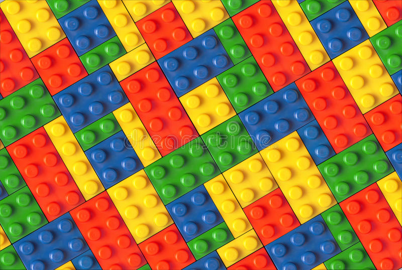 Plastic part of children's play. Background royalty free stock images