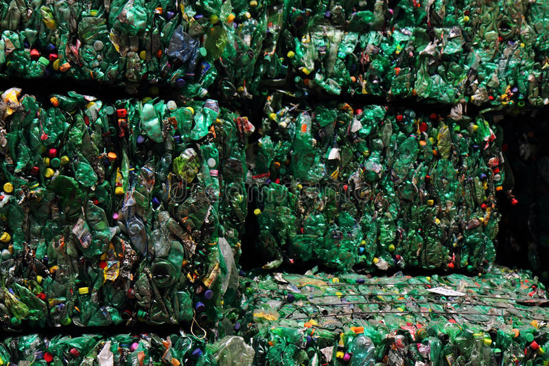 Plastic pet bottle garbage stock photography