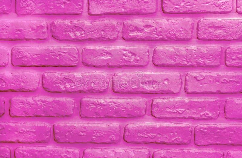 Plastic pink bricks background. Modern trendy texture. Plastic pink bricks background. Color of 2019 year. Modern trendy texture for design stock photos