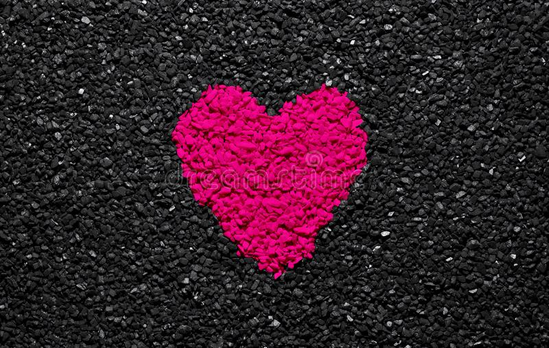 308 Heart Pink Colour Black Background Photos Free Royalty Free Stock Photos From Dreamstime