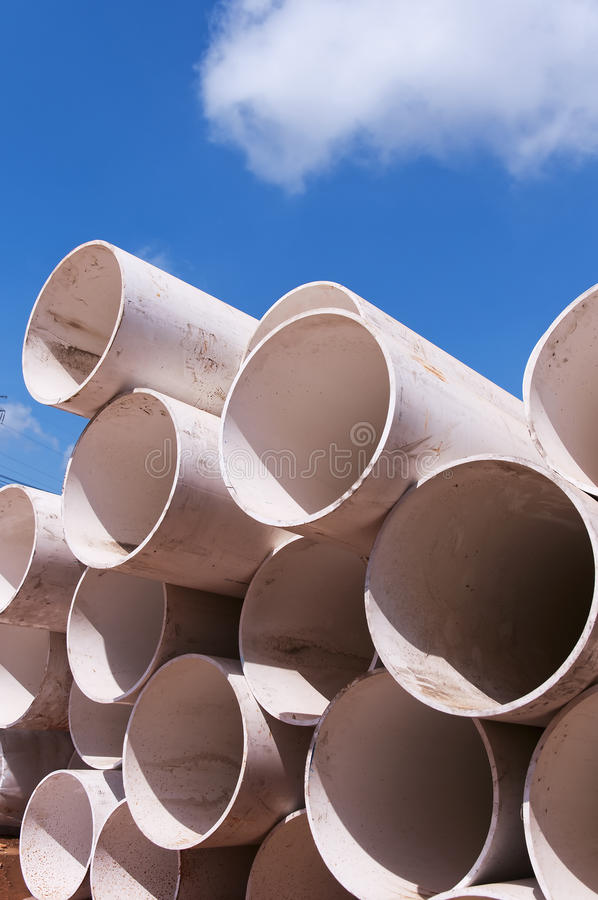 Download Plastic pipe stock image. Image of metal, ducts, background - 24708929