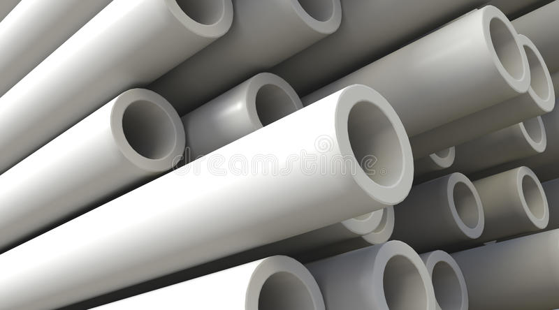 Download Plastic Pipes stock illustration. Image of technology - 11694092
