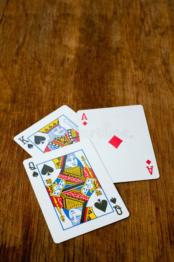 Plastic playing cards. Background for gambling. Casino. Gaming business.  royalty free stock image