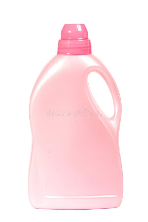Plastic rena flaska royaltyfria bilder