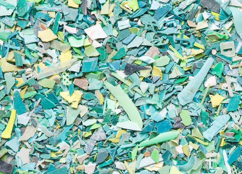 Plastic resin pellets background royalty free stock photography