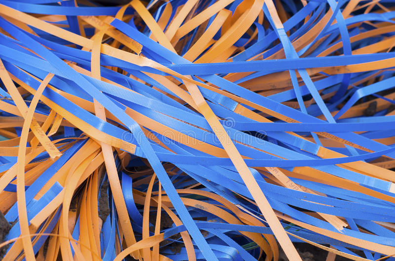 Plastic riemen royalty-vrije stock foto