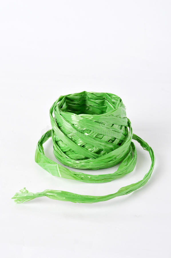 Plastic rope stock photography