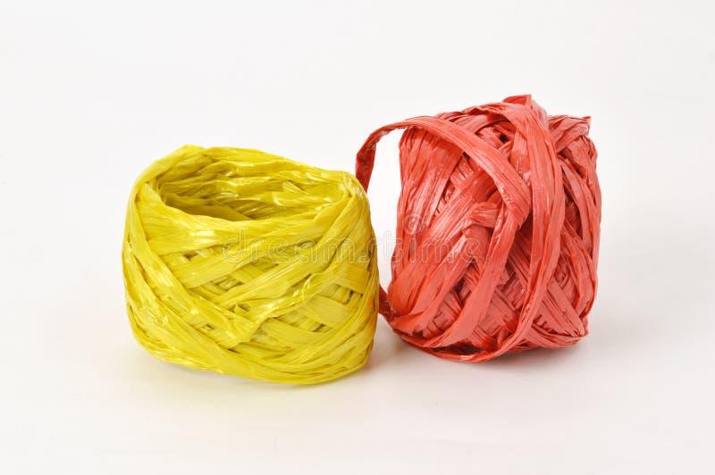 Plastic rope stock photo