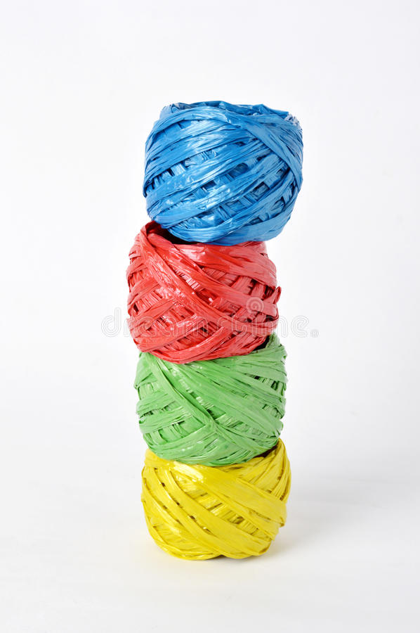 Plastic rope royalty free stock image