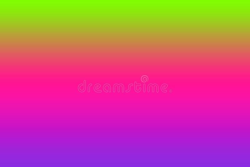 Plastic roze, Proton-purple en UFO groene kleur als achtergrond stock afbeelding