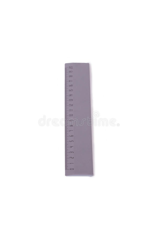 Download Plastic ruler stock photo. Image of above, flat, imperial - 26506564