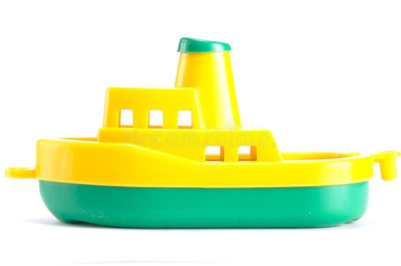 Plastic schip stock afbeeldingen