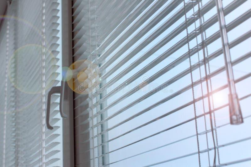 Plastic shutter stock image