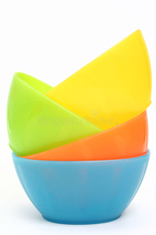 Free Plastic Snack Bowls Royalty Free Stock Images - 4529729