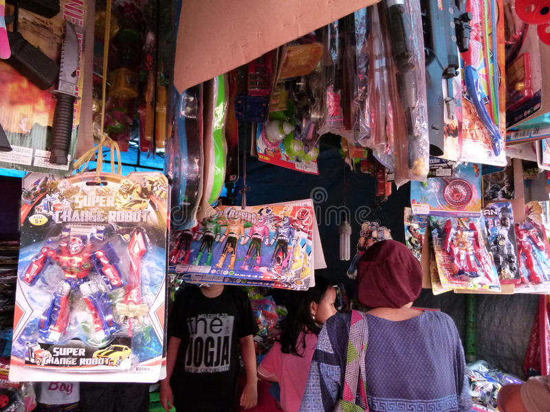 Plastic speelgoed stock fotografie