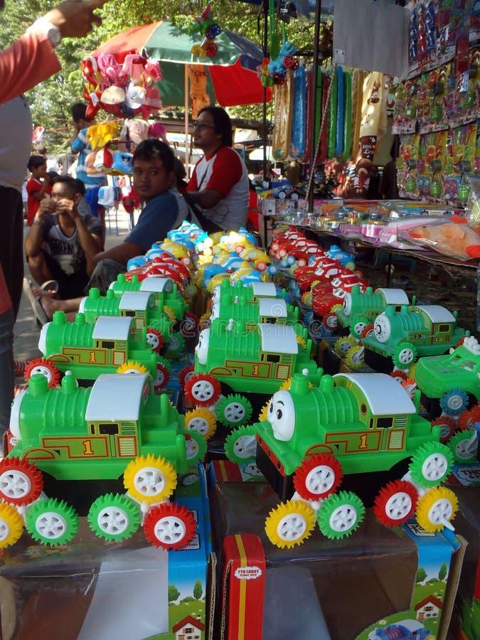 Plastic speelgoed royalty-vrije stock afbeelding