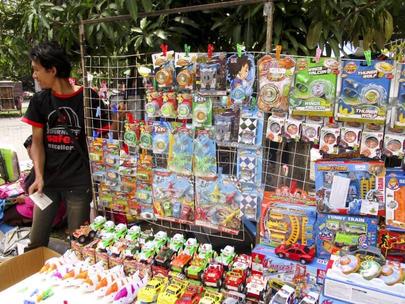 Plastic speelgoed royalty-vrije stock foto
