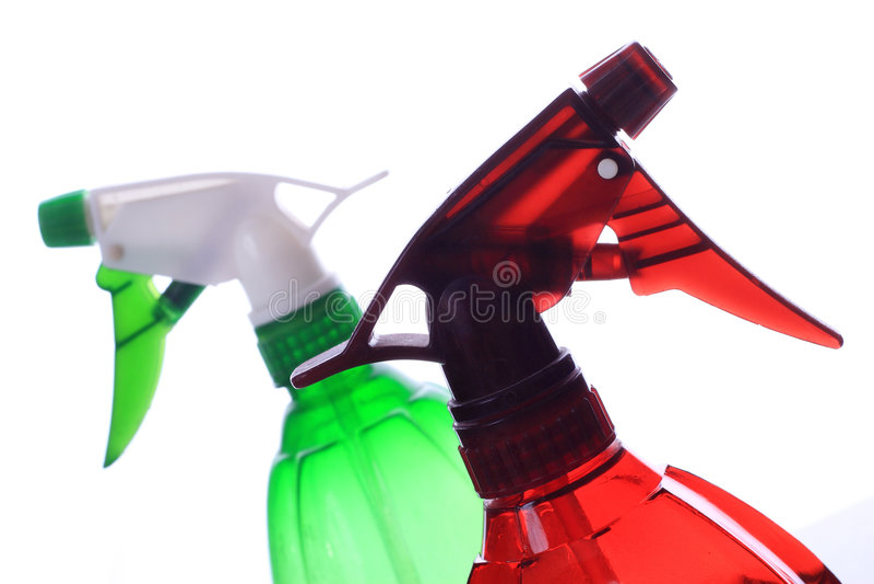 Plastic spuitbus royalty-vrije stock fotografie