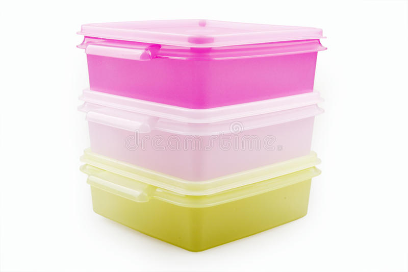 Download Plastic storage boxes stock image. Image of homeware - 12591511