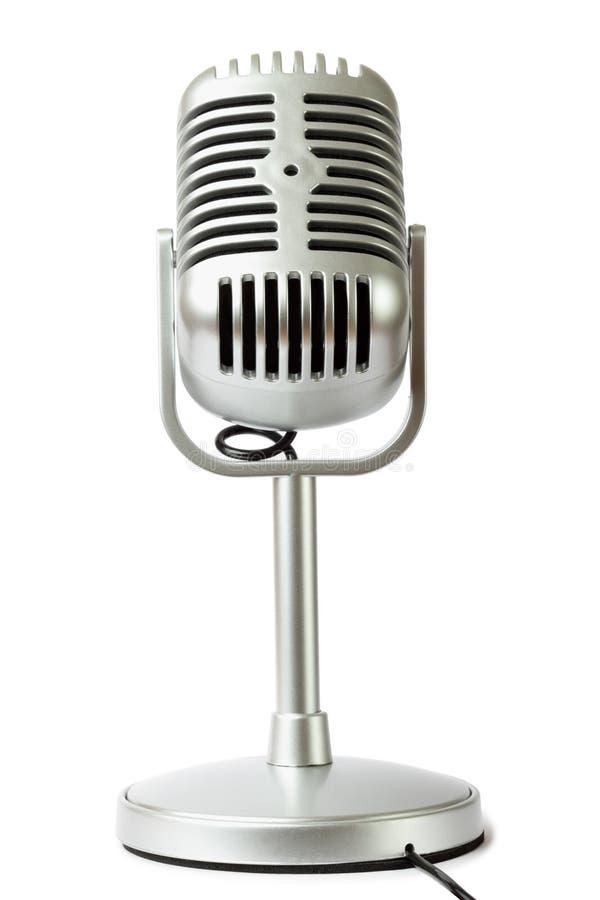 Download Plastic Studio Microphone Metallic Color Stock Photo - Image: 16331956
