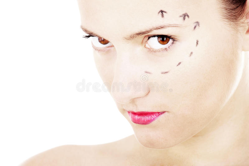 Plastic surgery needed? royalty free stock photo