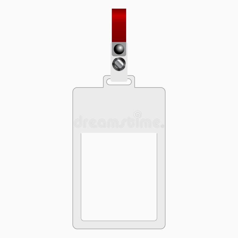 Plastic Tag Stock Photo