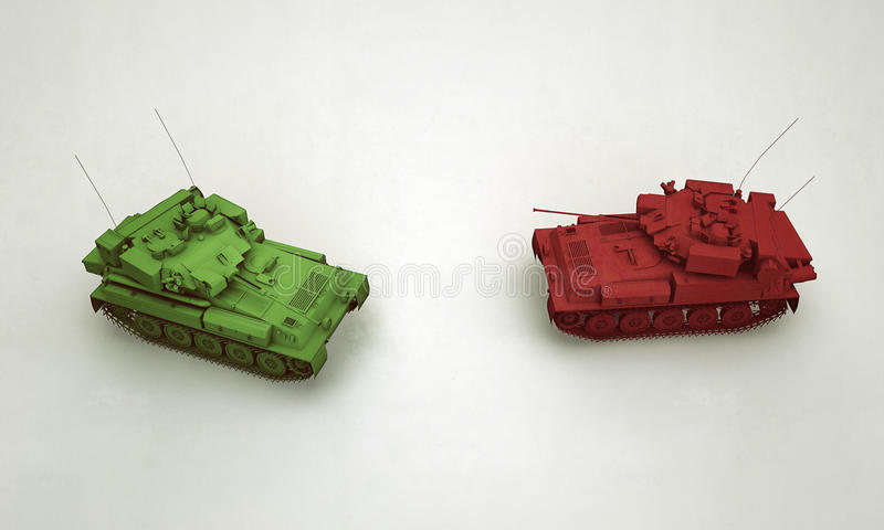 Plastic Tanks Royalty Free Stock Images